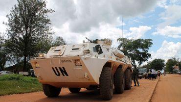 Un véhicule de l'ONU en République démocratique du Congo