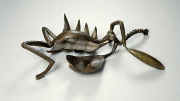 """""""Femme égorgée"""", 1932. Bronze (moulé en 1949)"""