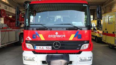 Les pompiers brabançons des casernes de Wavre et Nivelles ont été appelés à intervenir (illustration).