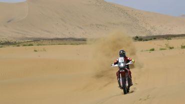 Barreda vainqueur d'une 7e étape endeuillée dans la catégorie moto