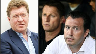Football : Thierry Luthers et Marc Wilmots