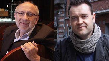 Maxime Dieu, à droite, espère que l'enquête sur André Ceuterick (à gauche), ne nuira pas au festival.