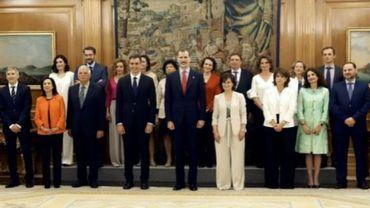 Exécutif espagnol: la parité dépassée. La Belgique à la traîne