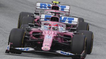 F1: Renault porte réclamation contre Racing Point