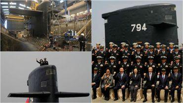 Taïwan va développer sa propre flotte de sous-marins
