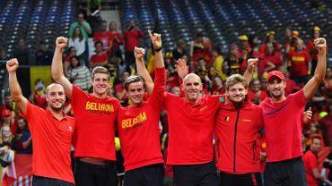 L'équipe belge de Coupe Davis