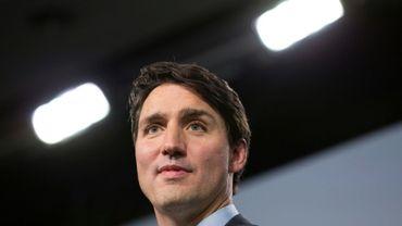 Justin Trudeau au sommet du G7 le 9 juin. Tout le Canada formait l'union sacrée autour du Premier ministre après les attaques de Donald Trump
