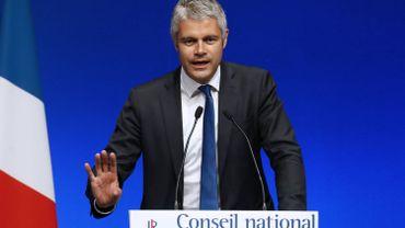 Le président de la région Auvergne-Rhône-Alpes Laurent Wauquiez.