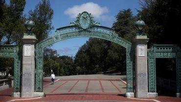 Le campus de l'université de Berkeley le 22 juillet 2020
