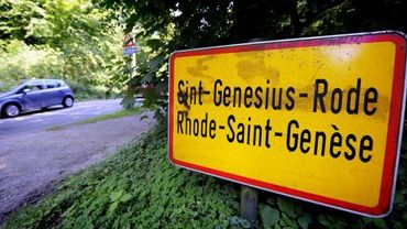 Entrée de la commune de Rhode-Saint-Genèse