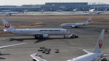 Le groupe de transport aérien japonais Japan Airlines (JAL).