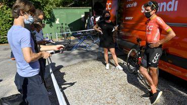 """Van Avermaet : """"Étrange qu'une course aussi technique que les Strade Bianche soit la première"""""""
