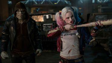 """Dans """"Suicide Squad"""", Margot Robbie (Harley Quinn) joue la petite amie du Joker, campé par Jared Leto"""
