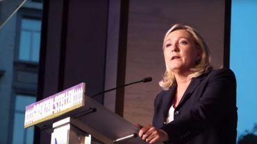 Dans un sondage, 20% des Wallons se disaient prêts à voter pour Marine Le Pen.
