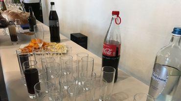 Lors des réceptions à la ville de Jodoigne, bouteilles et verres en plastique n'ont plus droit de cité