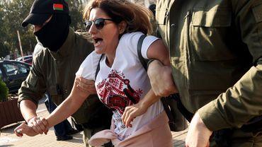 Biélorussie: une petite centaine de manifestantes arrêtées lors d'une manifestation de l'opposition