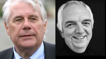 Lucien Cariat à gauche, Marc Parmentier à droite