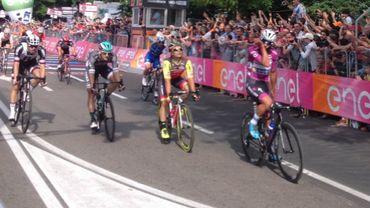 Gaveria remporte la 12ème étape du Giro, Dumoulin conserve le maillot rose