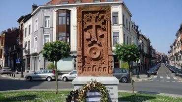 Memorial génocide arménien, Ixelles (square Michaux)