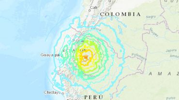 L'Equateur frappé par un séisme de magnitude 7,5