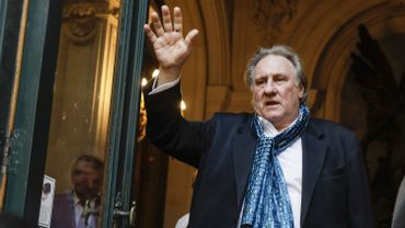 Gérard Depardieu au Brussels International Film Festival