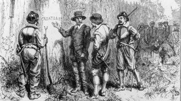 """""""Croatoan"""", le seul indice laissé par la colonie disparue, jusqu'à ce que les archéologues s'en mêlent"""