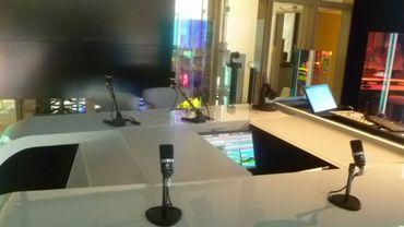Le studio du JT de Télésambre bientôt opérationnel à Médiasambre