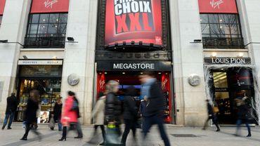 Virgin Megastore: une fermeture symbole de la mutation des Champs-Elysées