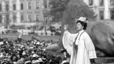 Emmeline Pankhurst  et les sufragettes en Grande-Bretagne