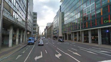 La rue de la Loi, à Bruxelles.