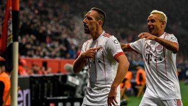 Franck Ribéry et Rafinha