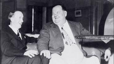 Stan Laurel (à gauche) et Oliver Hardy auront droit à un biopic télévisé, diffusé sur la BBC.