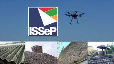 Bientôt, un drone liégeois pour détecter l'amiante dans les toitures
