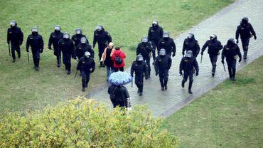 Selon l'ONG Viasna, 39 personnes ont été arrêtées.