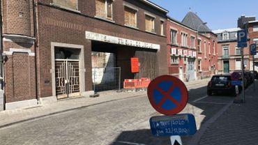 Liège-Guillemins: le site de l'école de l'Icadi devient un dépôt pour les travaux du tram. Et après?