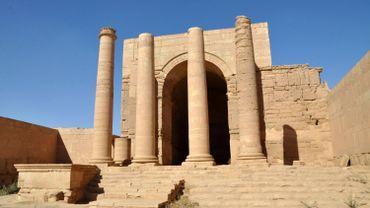 Vue de la ville d'Hatra, en Irak