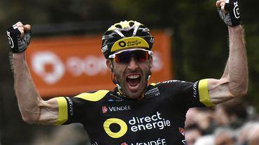 Jonathan Hivert, vainqueur du Tour du Finistère 2018.