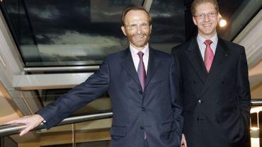 En 2006, Pierre Richard et Axel Miller, respectivement président et CEO de Dexia, avaient encore le sourire. Mais deux ans plus tard, la crise financière allait mettre en pleine lumière les failles abyssales de la banque franco-belge.