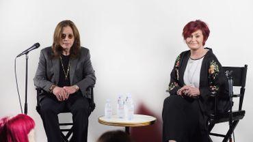Ozzy & Sharon Osbourne aux Grammy Awards