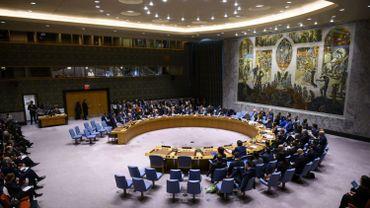 La salle où se réuni le Conseil de sécurité