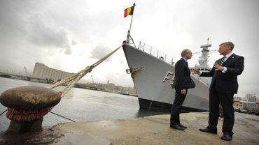 La frégate belge le Léopold 1 escortera peut-être un navire américain