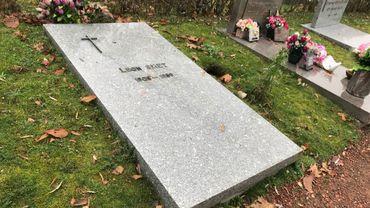 La tombe de Léon Smet, le père de Johnny Hallyday, est à Schaerbeek
