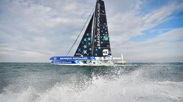 Le bateau d'Armel Le Cléac'h a chaviré, le skipper en sécurité