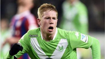 De Bruyne, à nouveau buteur, sauve un point pour Wolfsburg