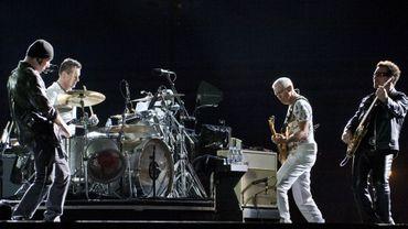 Le groupe irlandais U2 n'a pas sorti d'albums studio depuis 2009