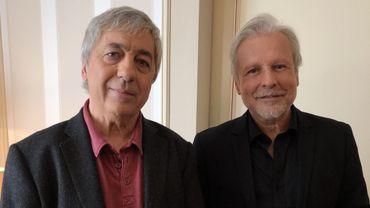 Sorj Chalandon et Thierry Bellefroid.
