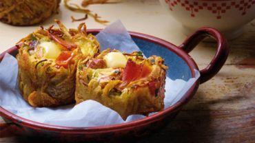 Recette: Muffins de râpés au Beaufort