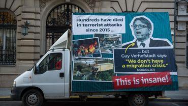 Viktor Orban lance une nouvelle campagne d'affichage contre Guy Verhofstadt