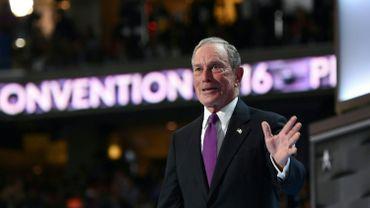 Michael Bloomberg, 74 ans, ex-maire de New York, n'est pas membre du parti démocrate.