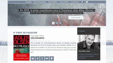 """Le nouveau site """"En Terre Scandinave"""" d'Albin Michel est consacré aux polars"""